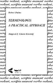 Terminology: A Practical Approach