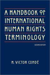 A Handbook of International Human Rights Terminology