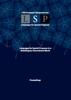 Languages for Special Purposes in a Multilingual, Transcultural World