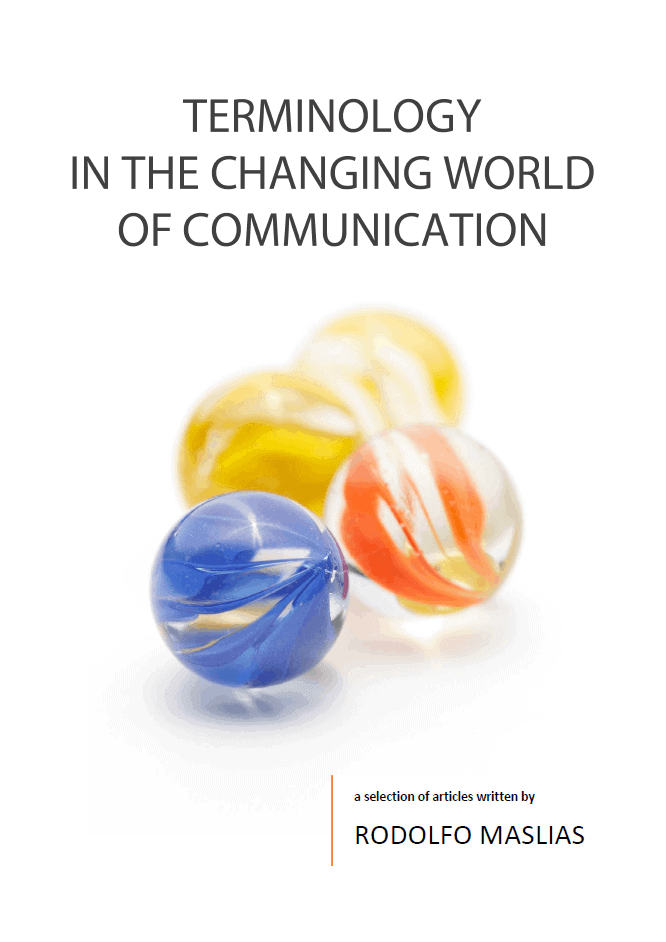 Terminology in the Changing World of Communication cover
