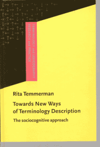 Towards New Ways of Terminology Description