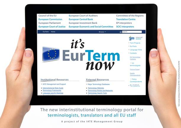It S Eurterm Now Terminology Coordination Unit Dgtrad