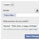 Trans* Terminology: Facebook's new gender options