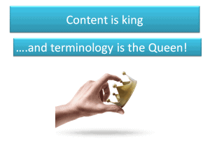 terminology_is_the_queen