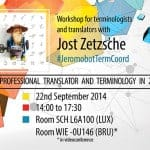 Most retweeted translation and terminology specialist Jost Zetzsche comes from the USA to the EP