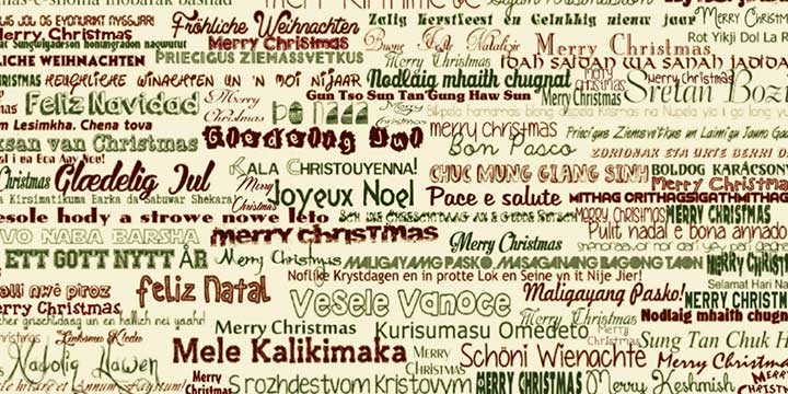 Termcoord sends seasons greetings terminology coordination unit merry christmas in lots of languages m4hsunfo