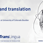 The Ethics of Machine Translation