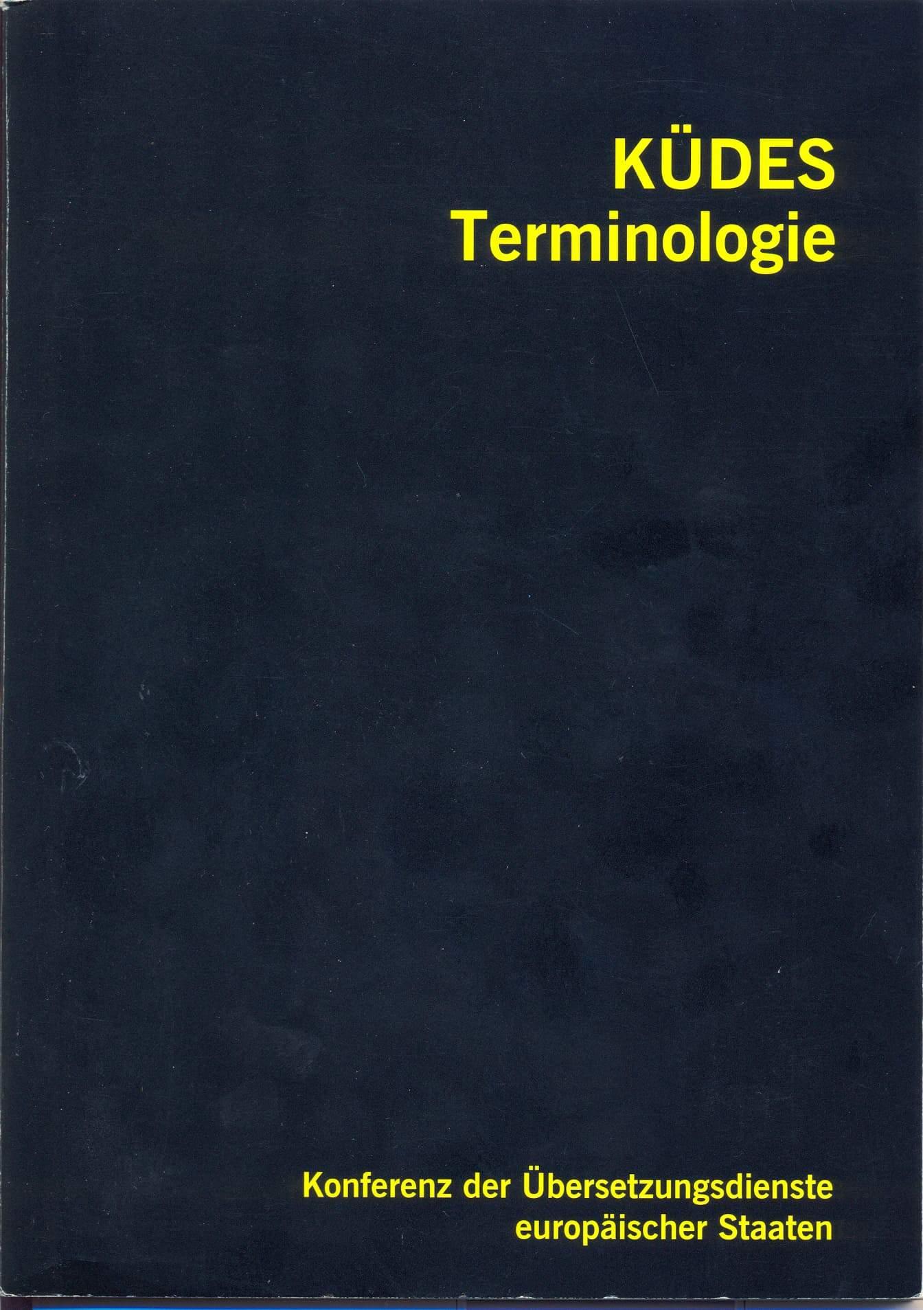 Empfehlungen für die Terminologiearbeit