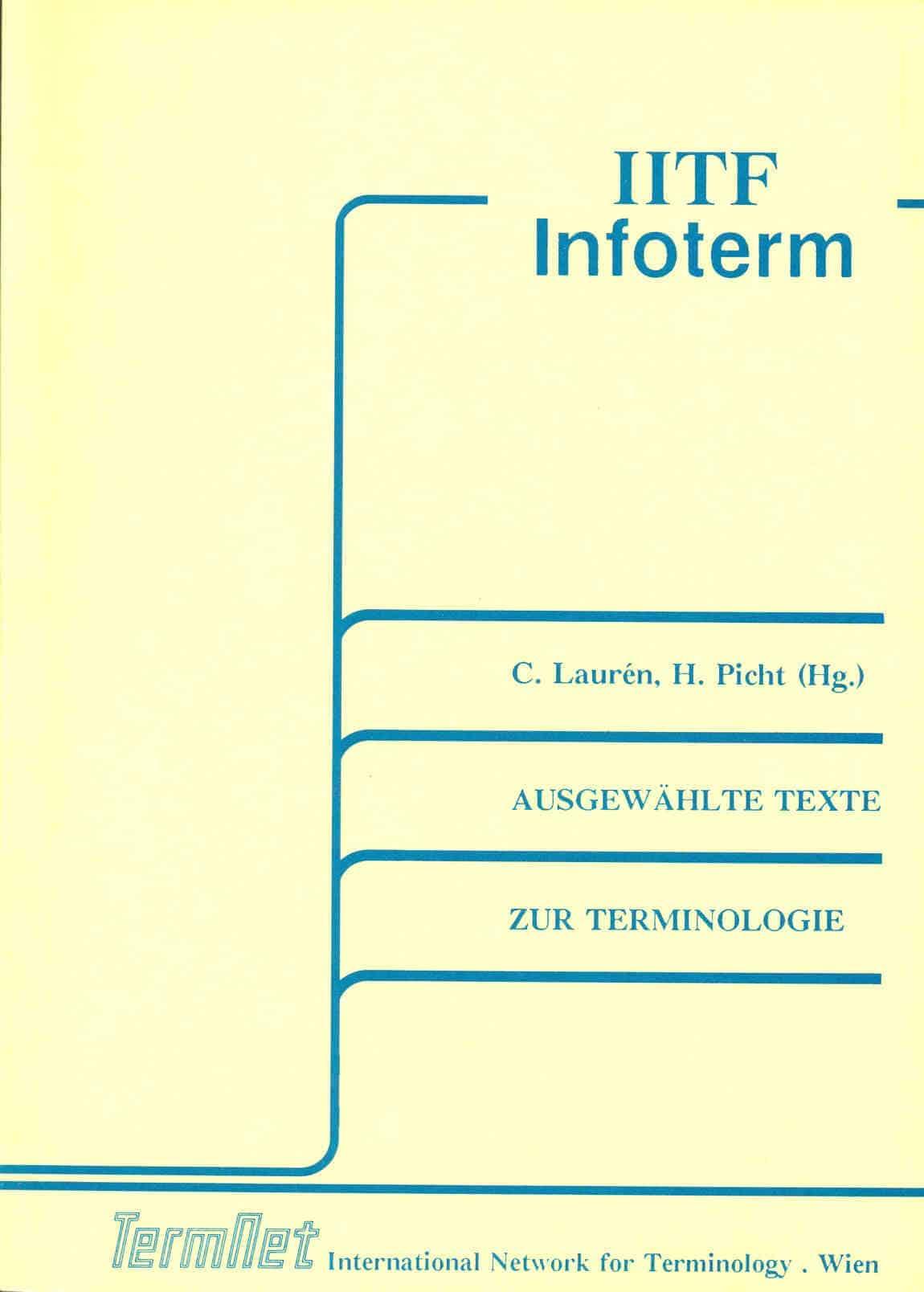 Ausgewählte Texte zur Terminologie
