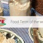 Gofio: specific taste, specific term