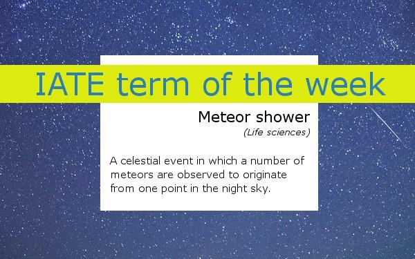 meteorshower IATE