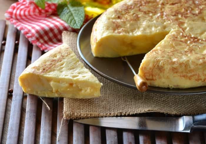 tortilla de patatas spain