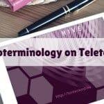 Socioterminology on Teletermino