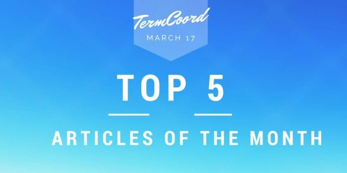 Best March articles on Terminology