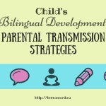 Child's Bilingual Development: Parental Transmission Strategies