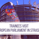 Trainees Visit the European Parliament in Strasbourg
