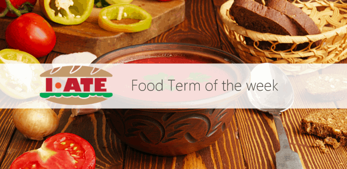 I ATE Food Term of the Week - copie