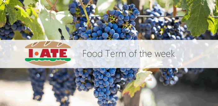 I-ATE wine banner