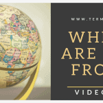Video Fix: Where are you from?