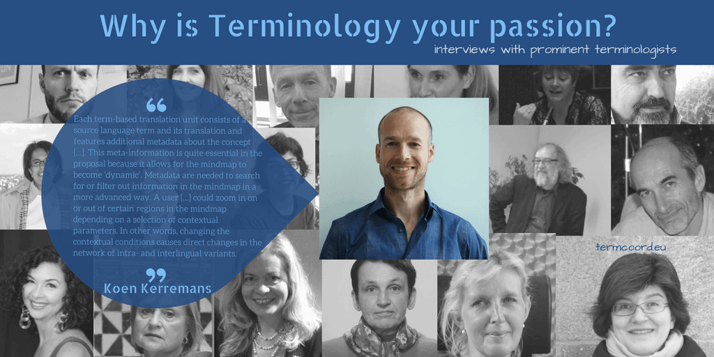 Why is Terminology your passion? banner - Photo of Koen Kerremans