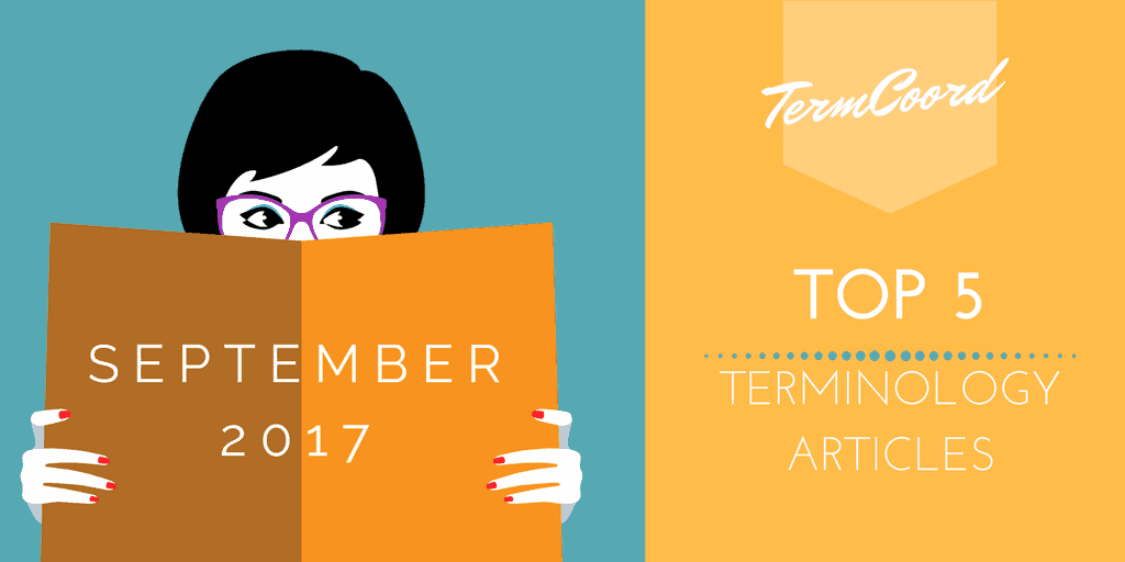 Top 5 Terminology Articles for September 2017 - Woman reading