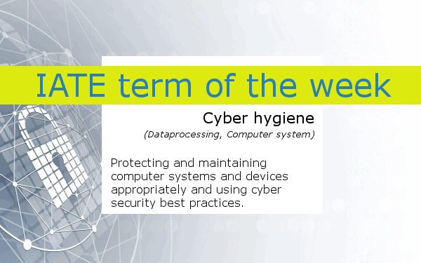 GIMP_IATE_term_of_the_week_cyberhygiene