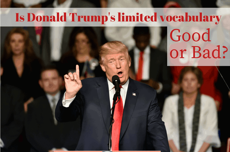 Donald Trump's Limited Vocabulary