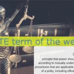 IATE Term of the Week: rule of law