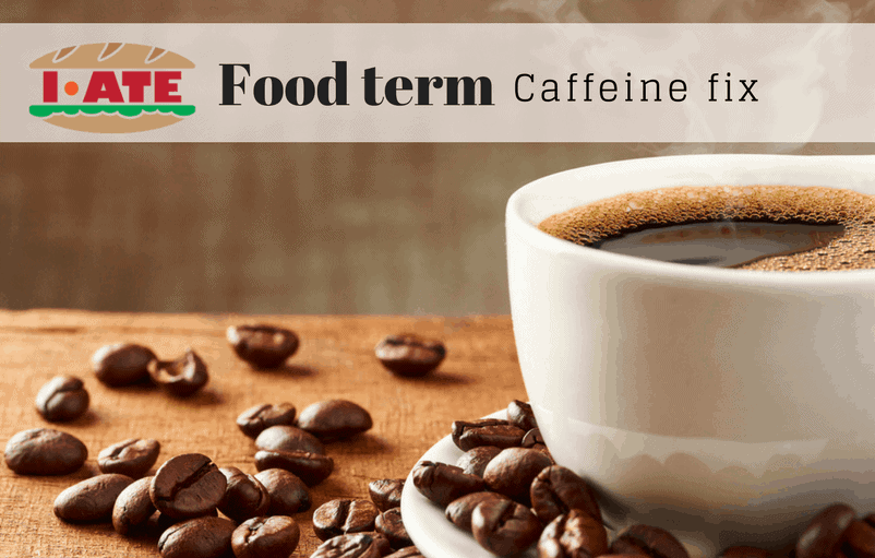 FOOD TERM OF THE WEEK - Coffee