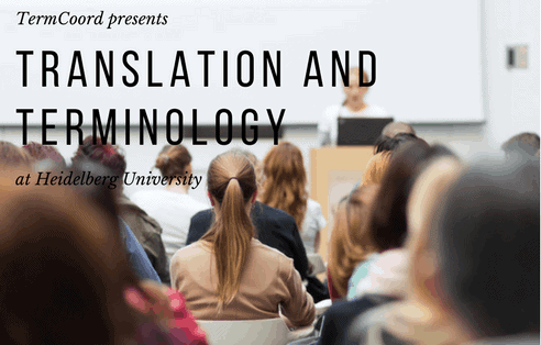 Translation and Terminology at Heidelberg University