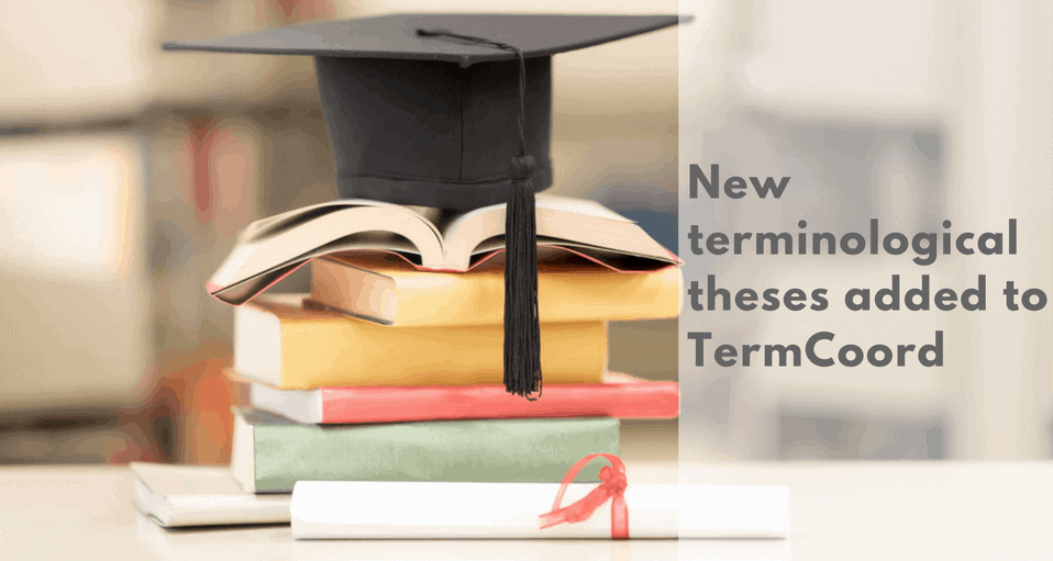 New terminological theses added to TermCoord