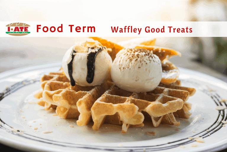 Waffle banner