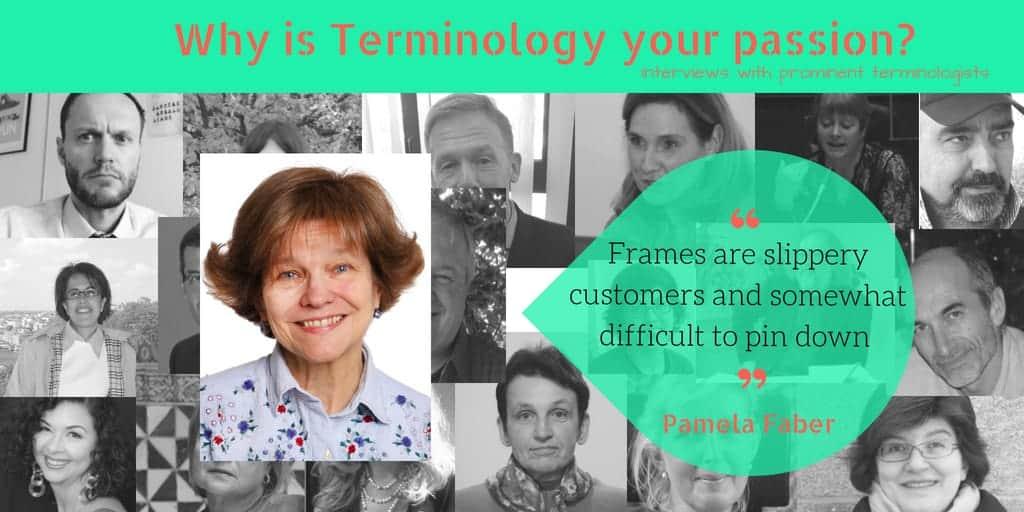 Interview With Terminologist Pamela Faber Terminology Coordination