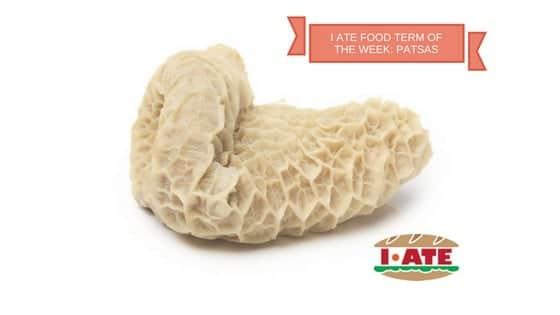 IATE Food Term of the Week: Patsas