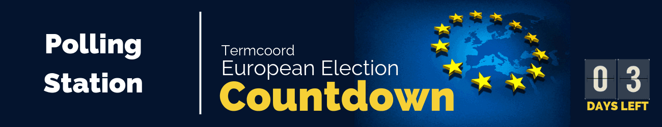 Countdown Banner Polling Station