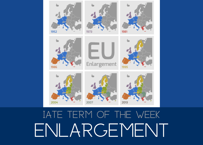 banner Term of the Week  Enlargement