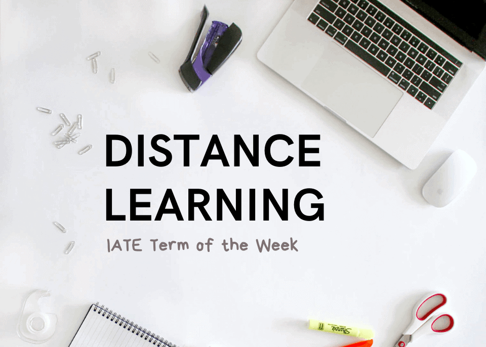 IATE Distance Learning banner