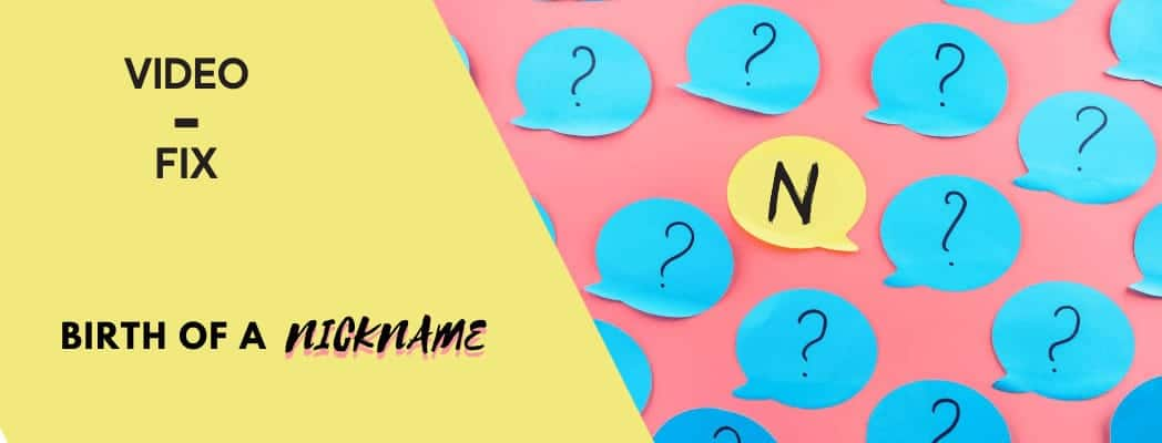 Video-Fix Nickname banner