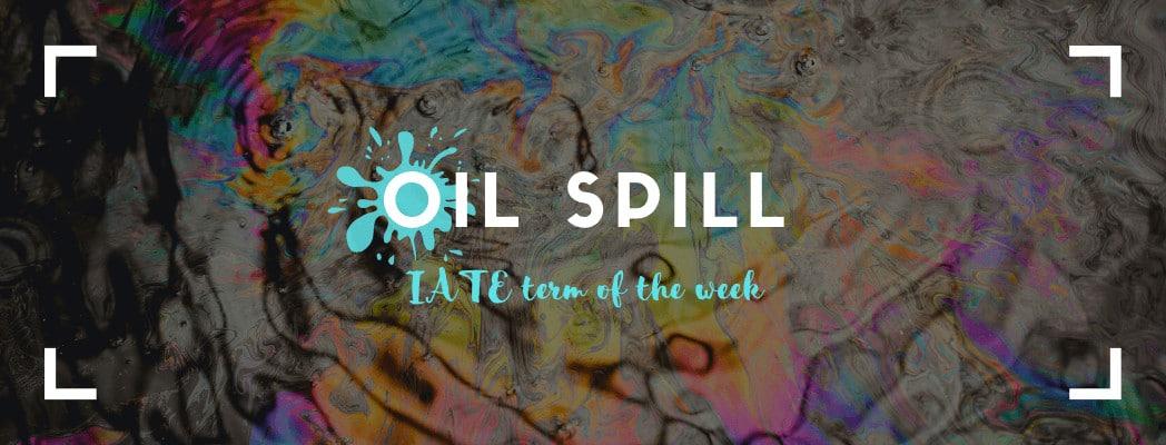 IATE Oil Spill banner
