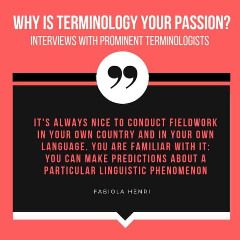 Interview with Linguist Fabiola Henri