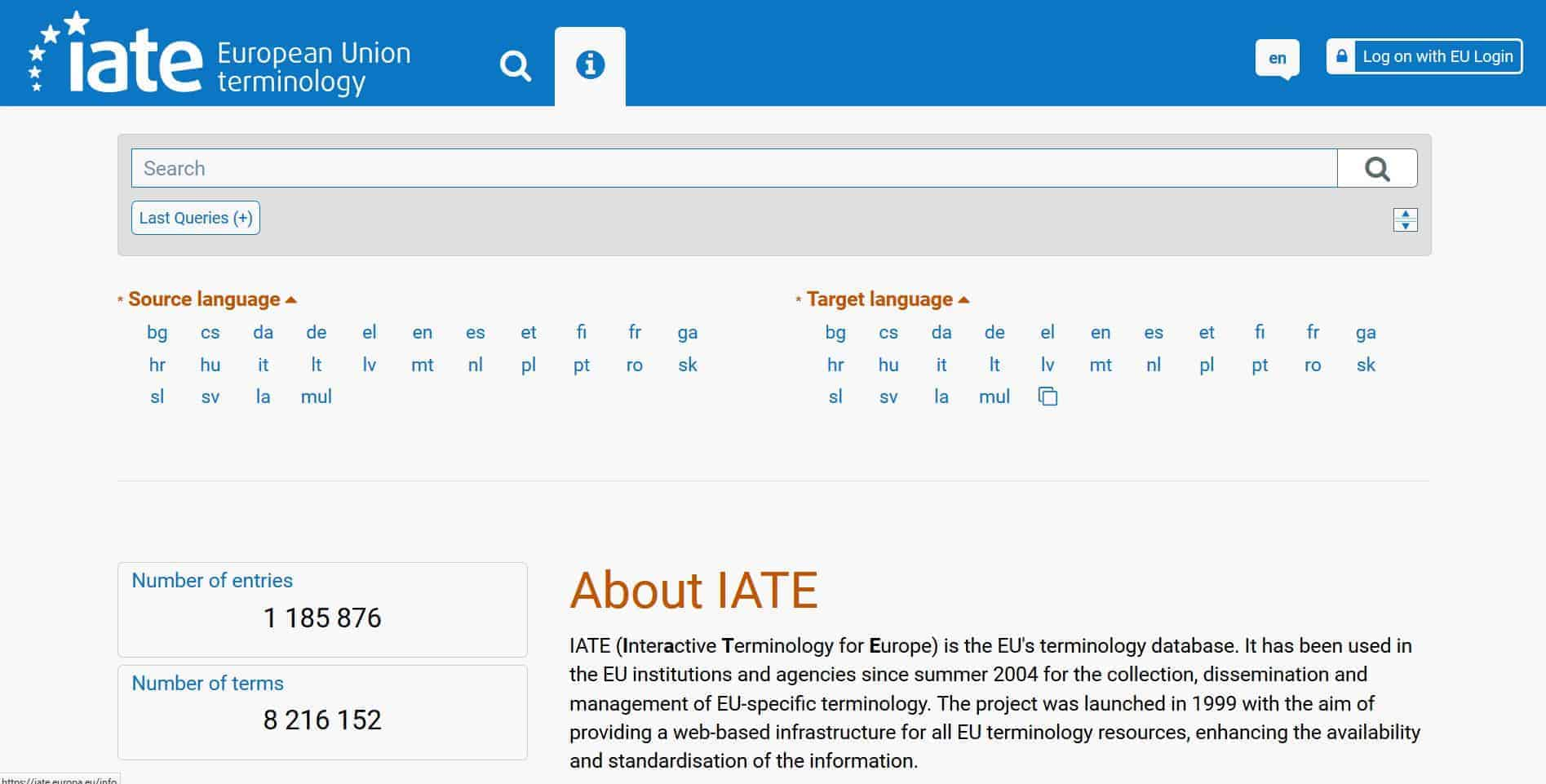 The new IATE is online!