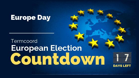 Termcoord European Election Countdown: Europe Day