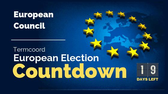 Termcoord European Election Countdown: European Council