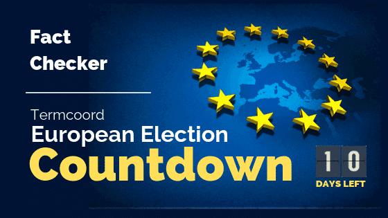 Termcoord European Election Countdown: Fact Checker