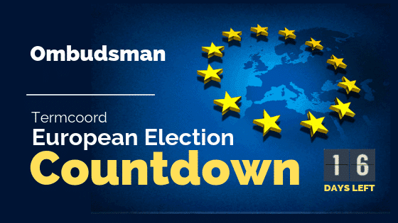 Termcoord European Election Countdown: Ombudsman