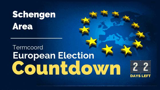 Termcoord European Election Countdown: Schengen Area
