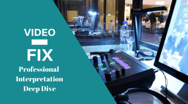 Video-Fix: Professional Interpretation Deep Dive