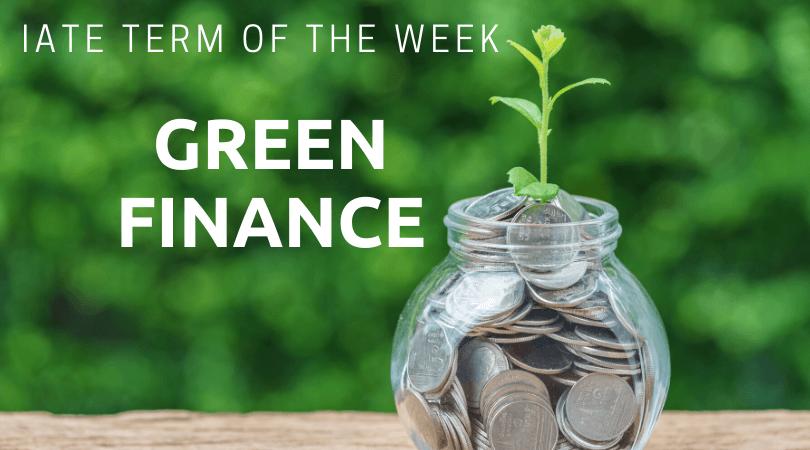 GREEN FINANCE FEAT