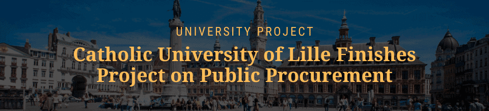 University of Lille university project public procurement