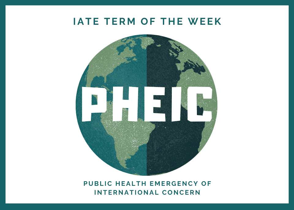 Term of the Week - PHEIC